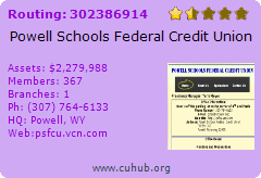 Powell Schools Federal Credit Union