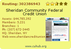 Sheridan Community Federal Credit Union