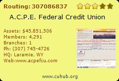 A.C.P.E. Federal Credit Union