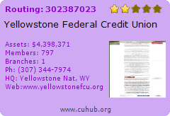 Yellowstone Federal Credit Union